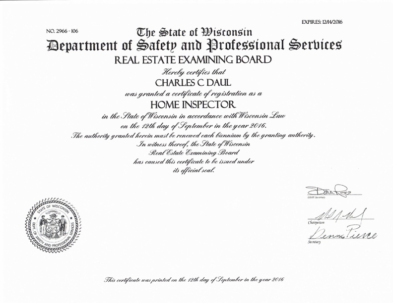 Home Inspection Service in Mondovi, WI | House Inspections